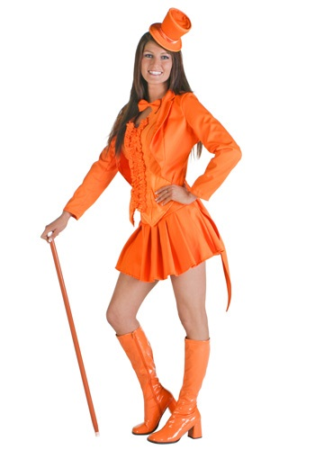 Halloween Costumes | Halloween Sexy Orange Tuxedo Costume - Womens Sexy Dumb and Dumber Costume Ideas
