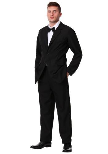 Mens Great Gatsby Black Tuxedo Costume