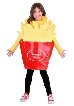 Kid's Fast Food Fries Costume