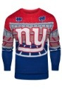 New York Giants Light Up Bluetooth Ugly Christmas Sweater