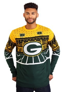 Green Bay Packers Light Up Ugly Christmas Sweater update1