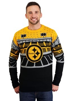 Pittsburgh Steelers Light Up Bluetooth Christmas Sweater Upd