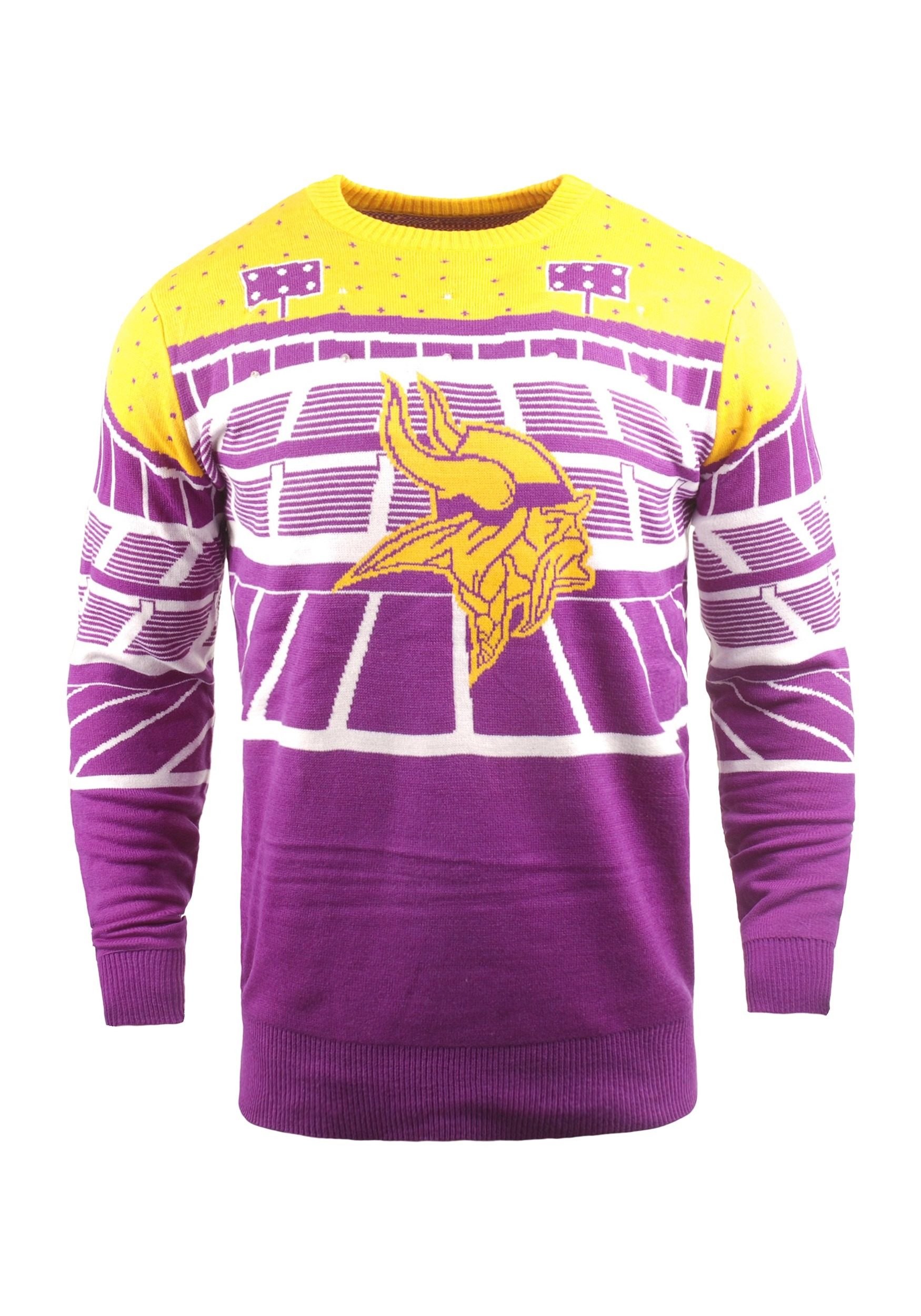 Minnesota Vikings Light Up Bluetooth Ugly Christmas Sweater d925104cf