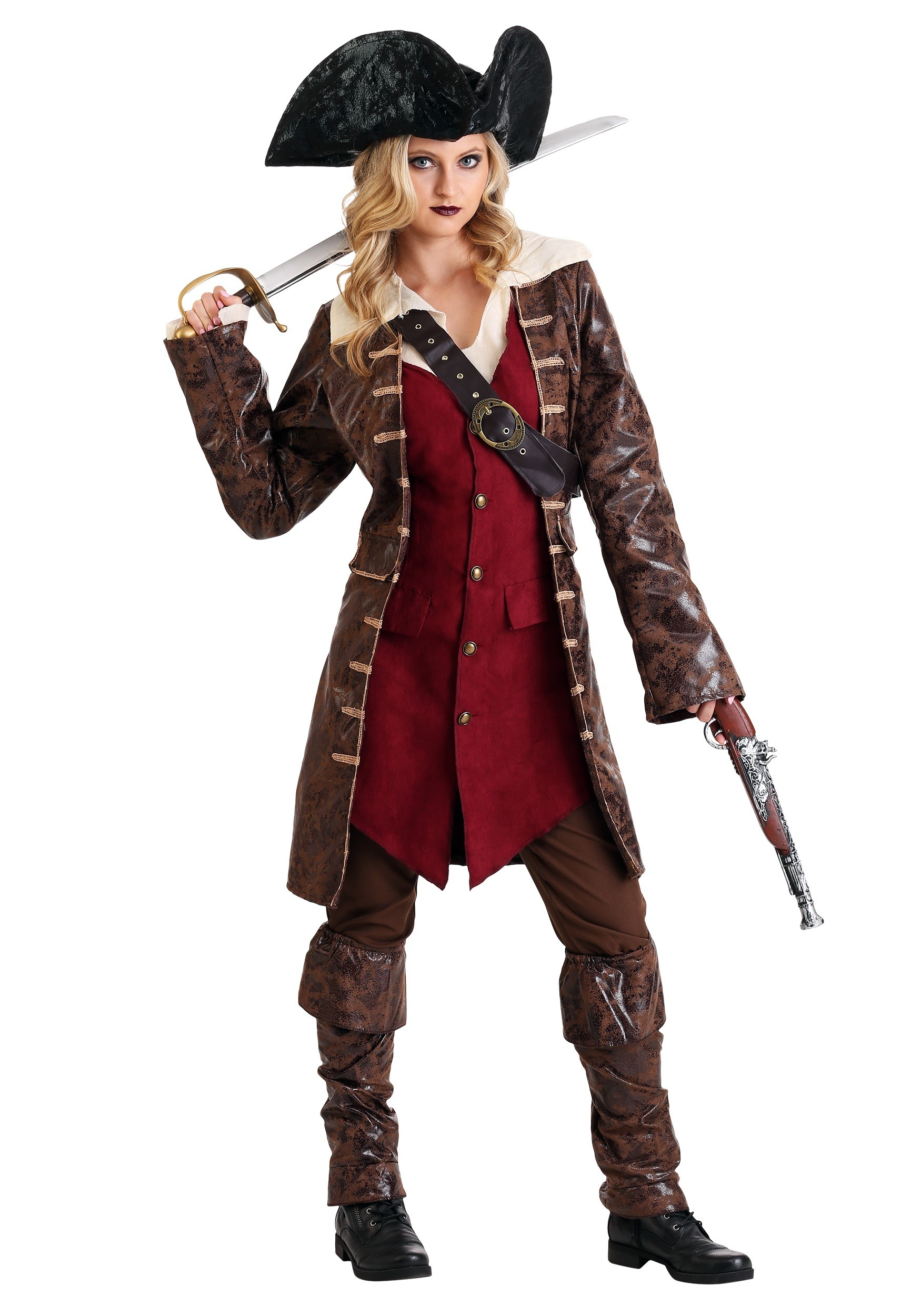 Womens Caribbean Pirate Costume  sc 1 st  Halloween Costumes & Pirate Costumes for Women - Female Pirate Halloween Costume