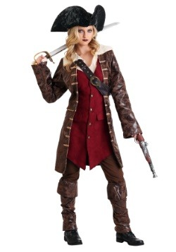 Womens Caribbean Pirate Costume