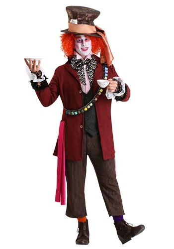 Men's Authentic Mad Hatter Costume (Men Mad Hatter Costume)