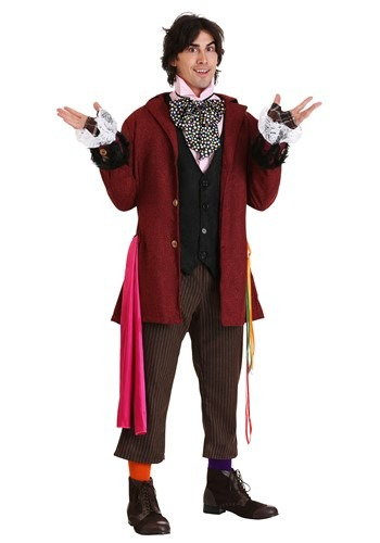 Mens Authentic Mad Hatter Costume