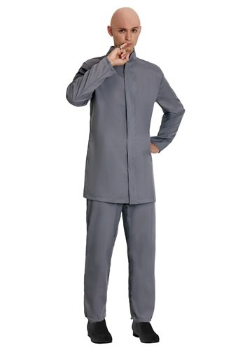 Deluxe Adult Grey Suit Costume Update
