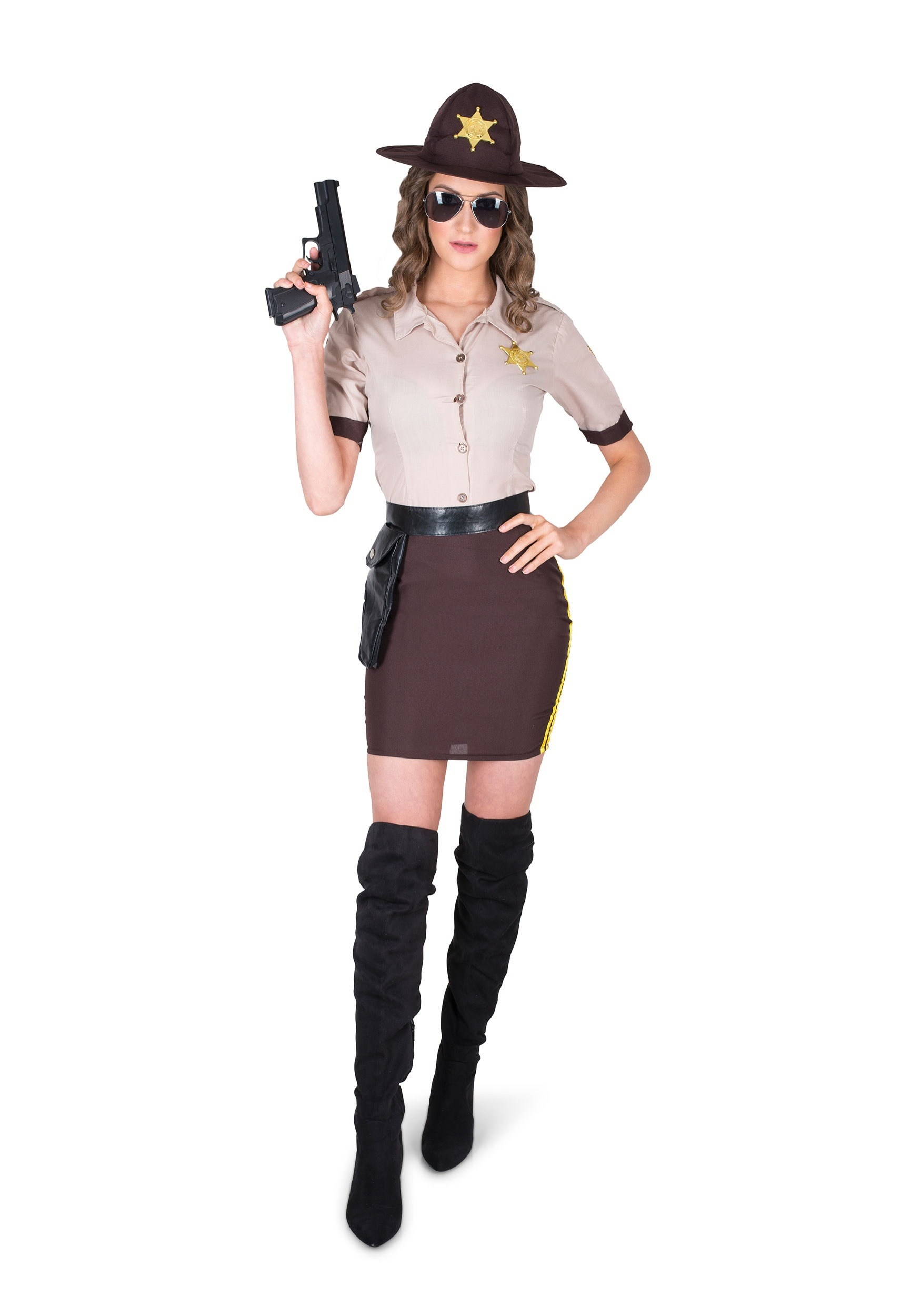 Sultry Sheriff Women's Costume