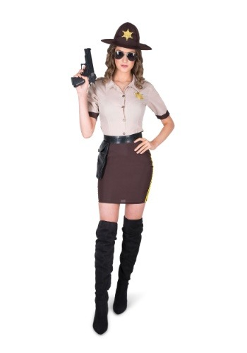Womens Sultry Sheriff Costume