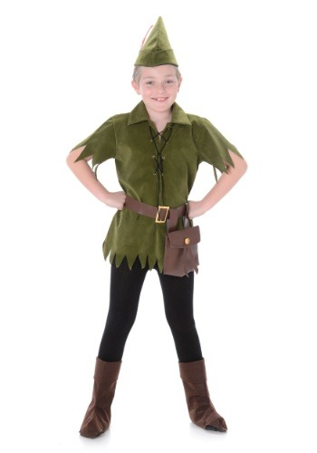 Click Here to buy Peter Pan Costume for a Boy from HalloweenCostumes, CDN Funds