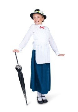 Girl's Nanny Costume