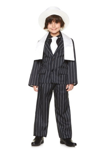 Boys Gangster Boss Costume