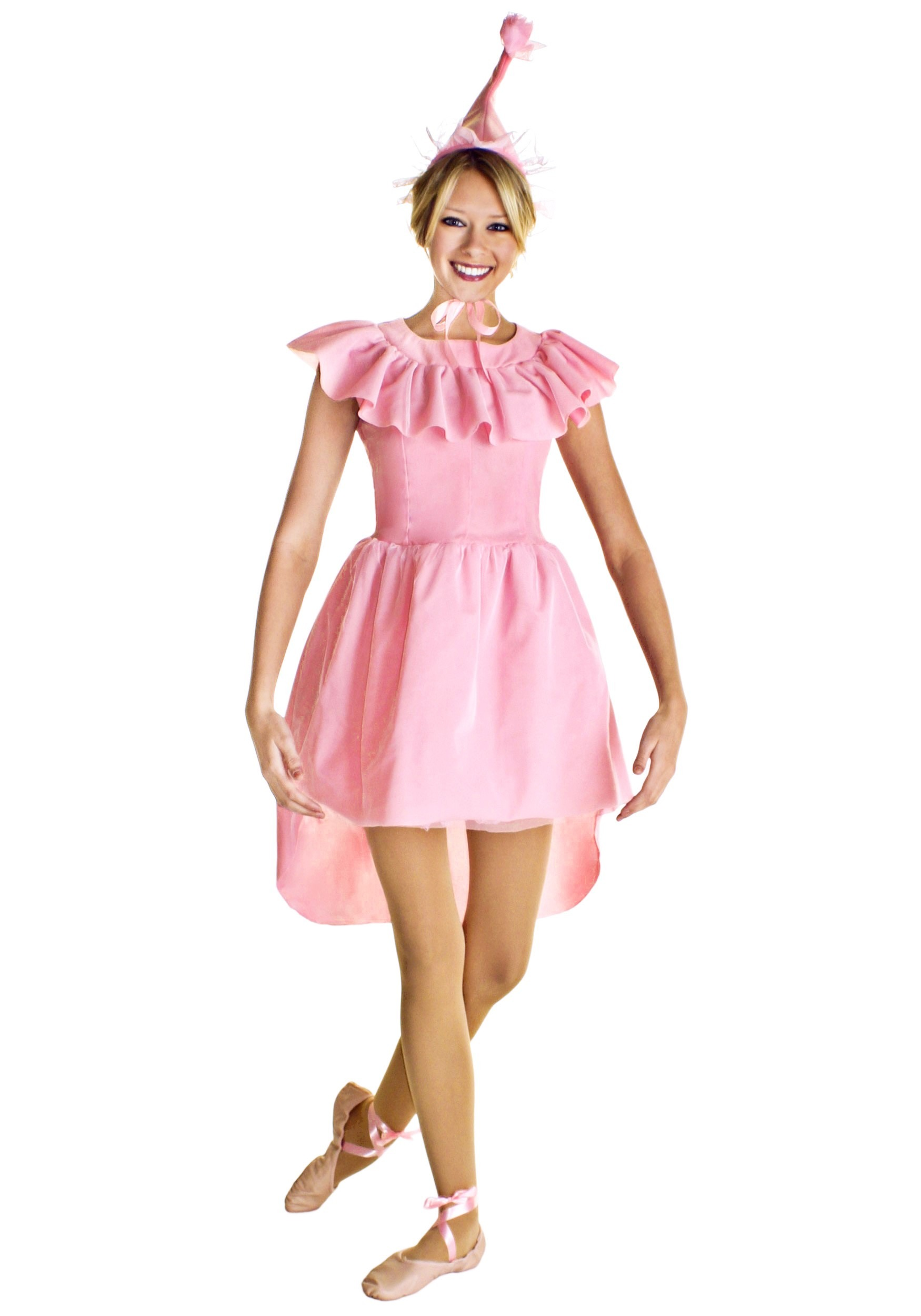 This is a pink and white, ballerina costume in a size The front length of the leotard is approx. 20 inches from neckline to crotch seam and the underarm width is approx. 28 inches unstretched.