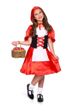 Girl's Red Riding Hood Costume