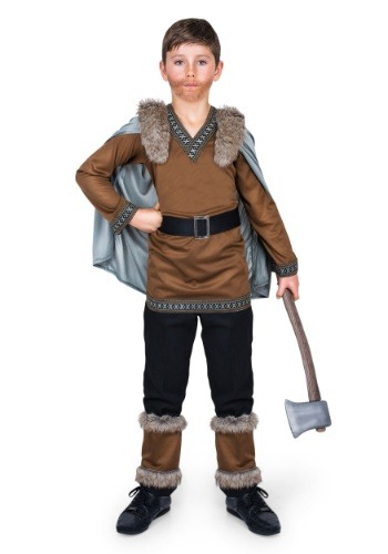 Kids Viking Barbarian Costume