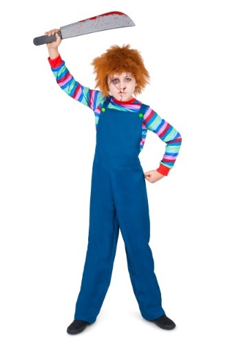 Boys Evil Doll Costume