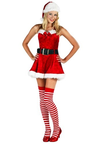 Click Here to buy Sexy Christmas Costume from HalloweenCostumes, CDN Funds