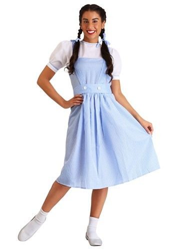 Click Here to buy Adult Kansas Girl Costume Dress from HalloweenCostumes, CDN Funds