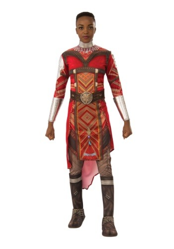 Click Here to buy Black Panther Deluxe Dora Milaje Adult Costume from HalloweenCostumes, CDN Funds