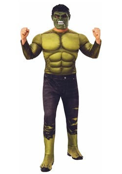 Adult Deluxe Hulk Costume