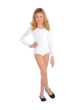 Child White Bodysuit Costume