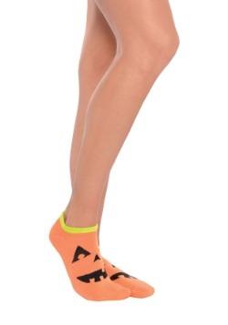Jack O Lantern Ankle Socks