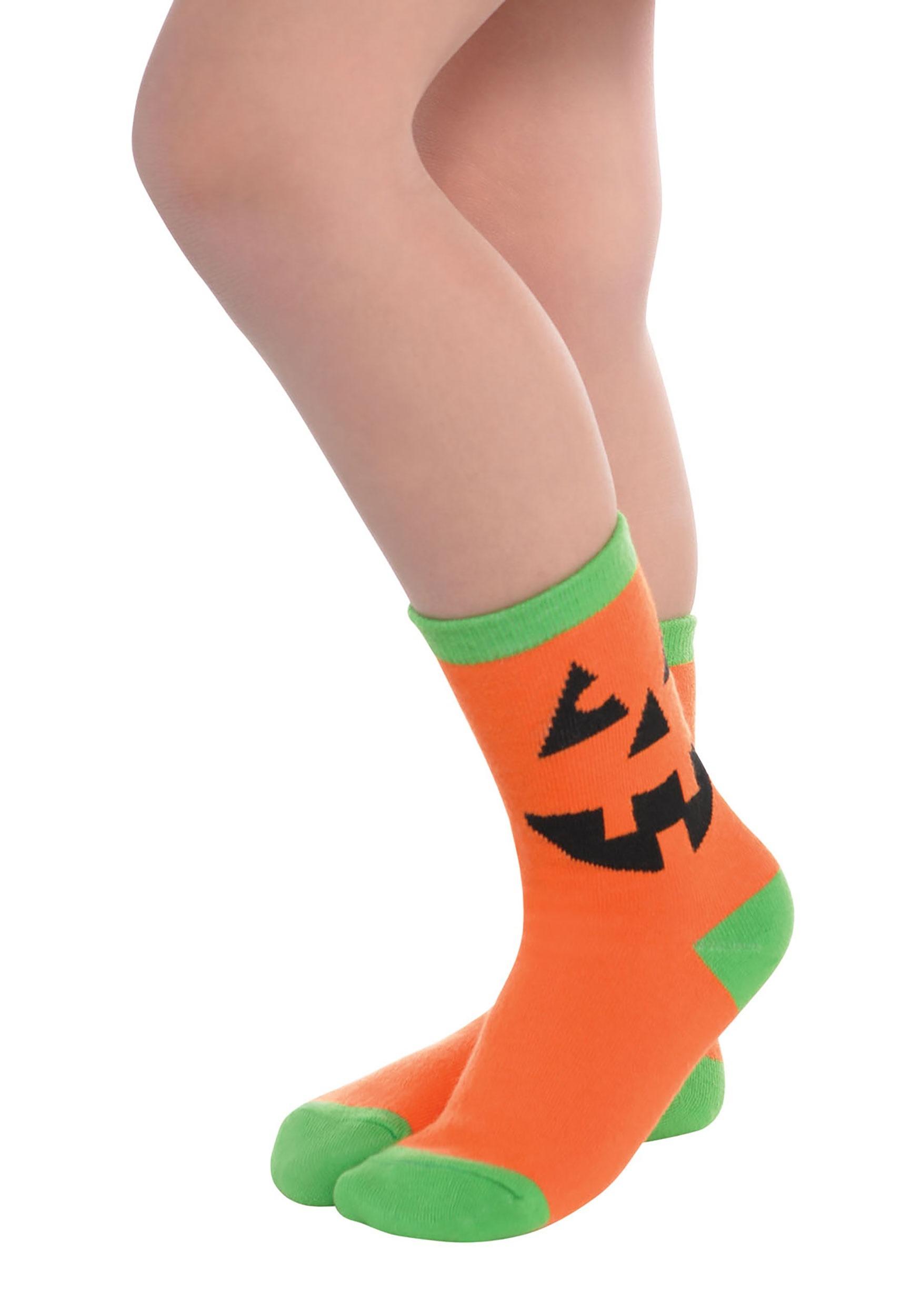 Pumpkin_Crew_Socks