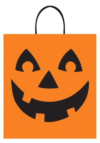 Jack O Lantern Treat Bag