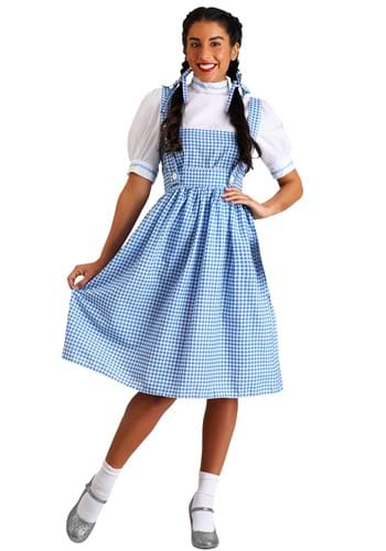 Click Here to buy Kansas Girl Long Dress Costume from HalloweenCostumes, CDN Funds
