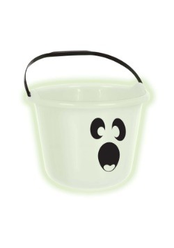 Ghost Pumpkin Treat Bucket