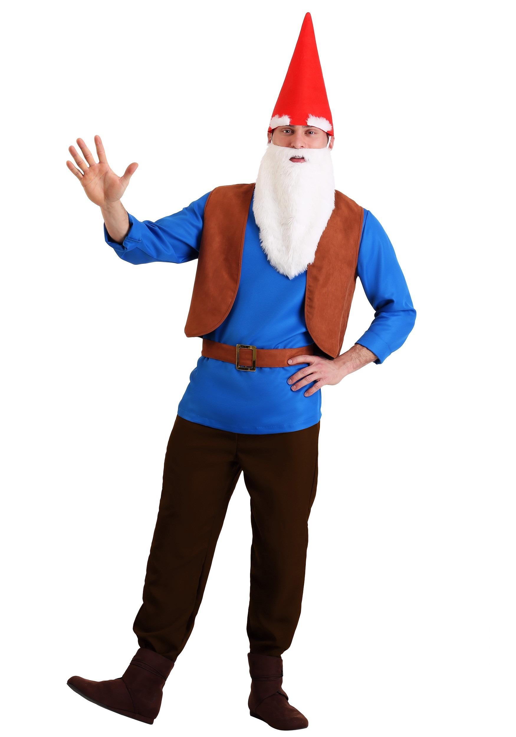 Men\u0027s Gnome Costume