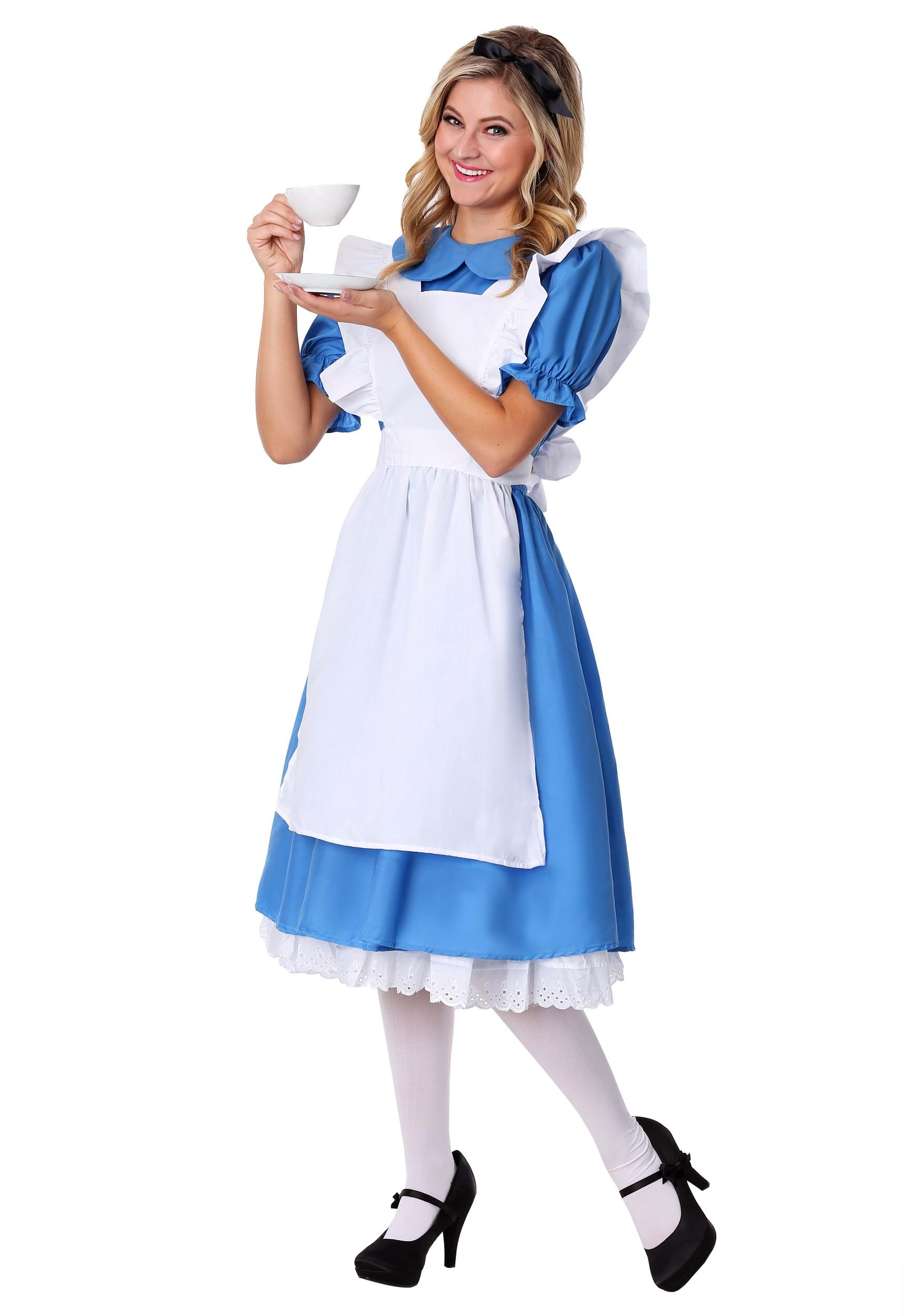 Child Deluxe Alice Costume Adult Deluxe Alice Costume