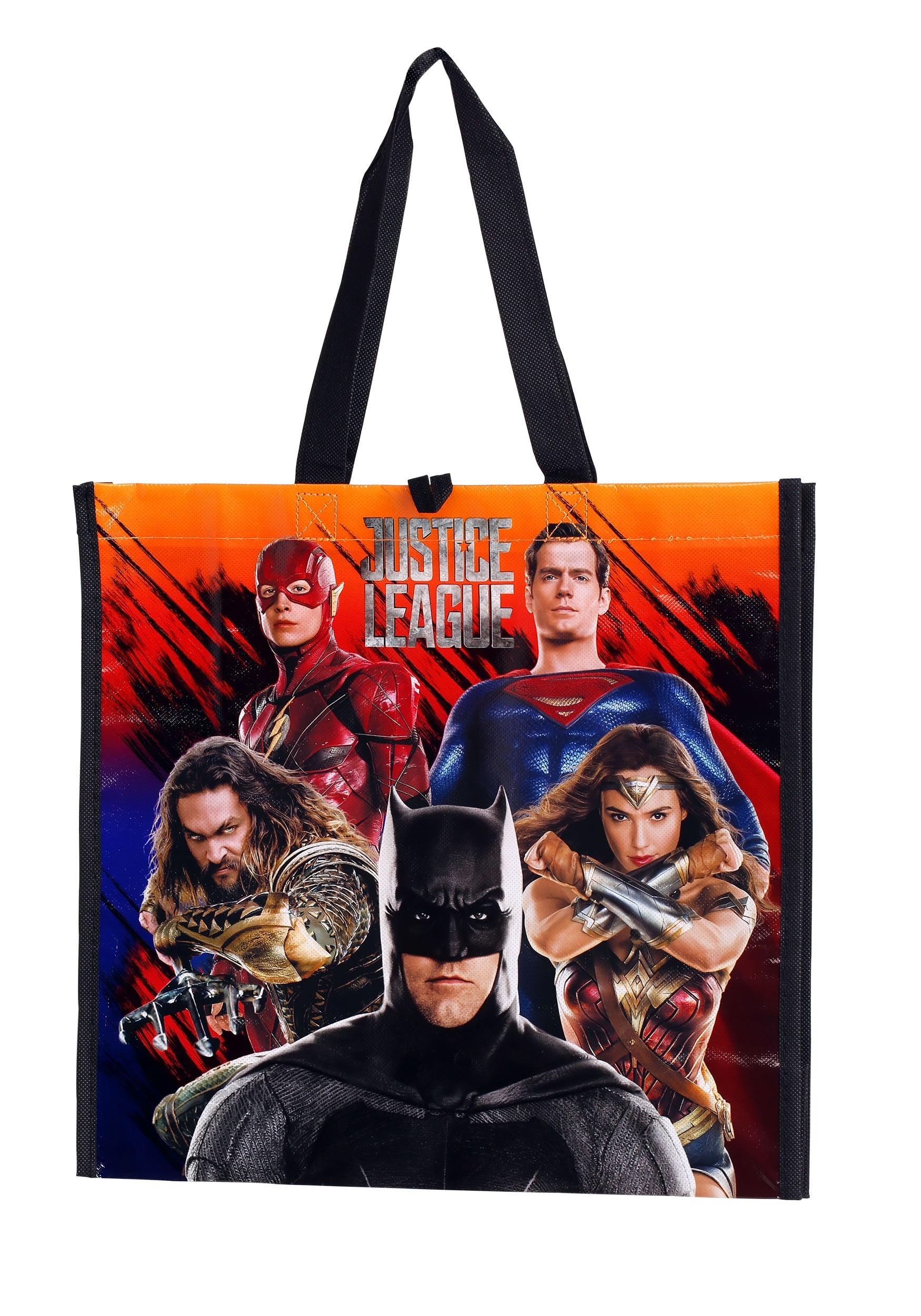 Reusable Justice League Treat Bag Tote