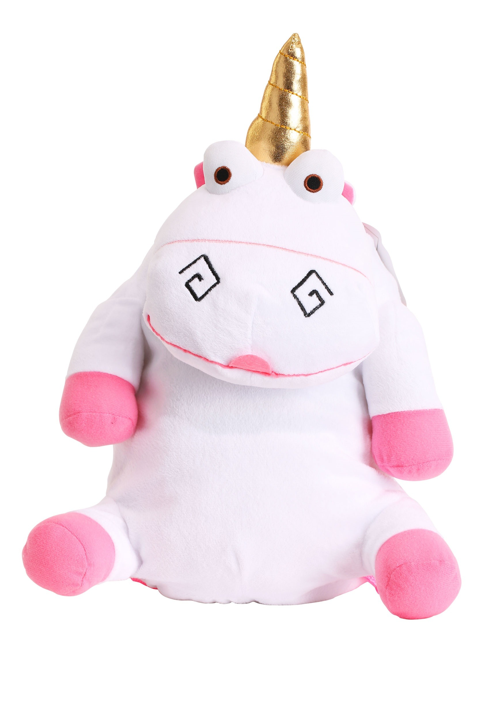 Despicable Me Kid's Fluffy Unicorn Plush Backpack