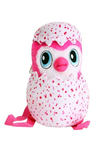 Kids Hatchimals Plush Backpack