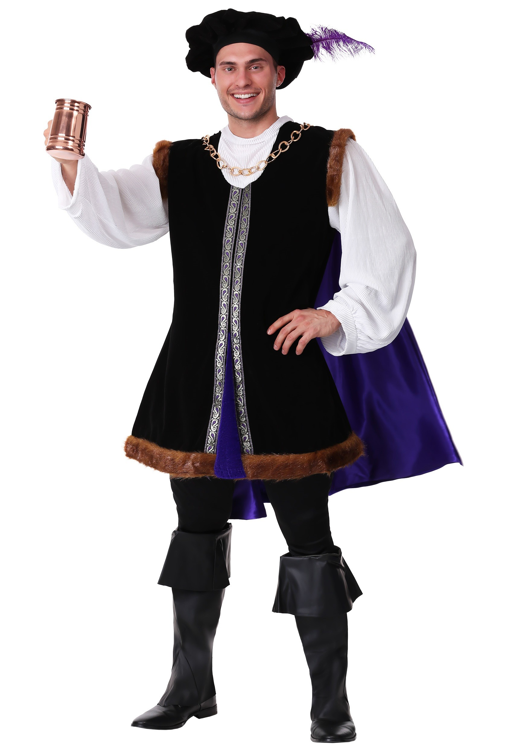 Noble Renaissance Man Costume  sc 1 st  Halloween Costumes & Menu0027s Renaissance Costumes - Adult Plus Size Renaissance Costume ...