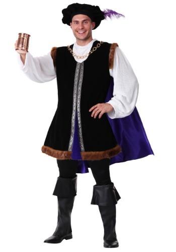 Noble Renaissance Man Costume - Renaissance Prince Costumes