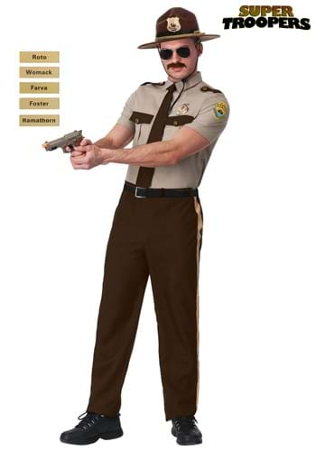 Super Troopers Adult Plus Size State Trooper Costume