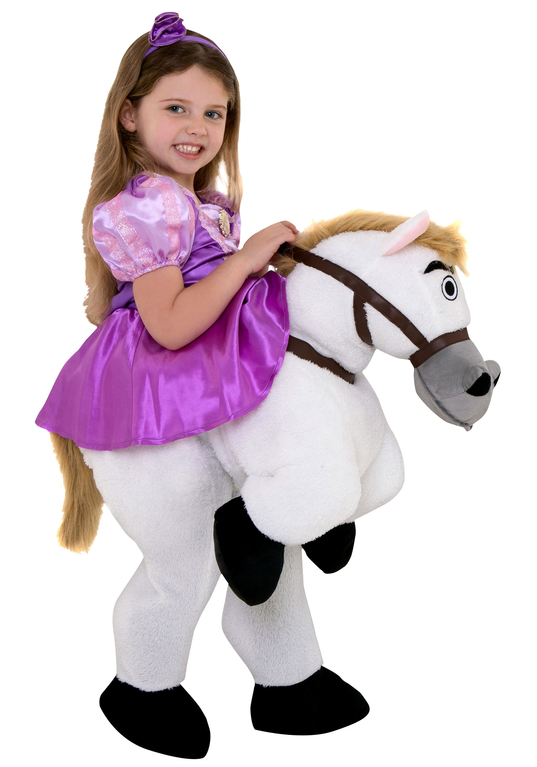 Rapunzel Ride On Costume For Toddlers
