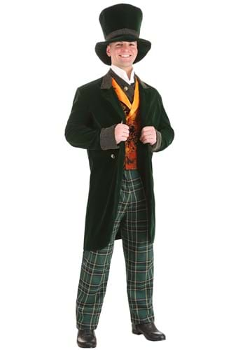 Click Here to buy Deluxe Adult Mad Hatter Costume from HalloweenCostumes, USA Funds & Shipping