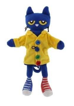 "Pete the Cat and His Four Groovy Buttons 14.5"" Puppet"