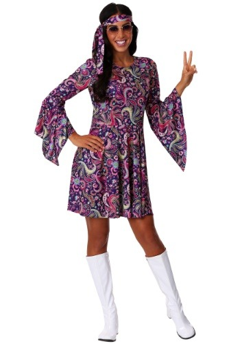 Women's Woodstock Hippie Costume