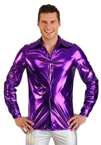 Click Here to buy Shattered Glass Mens Disco Shirt from HalloweenCostumes, CDN Funds