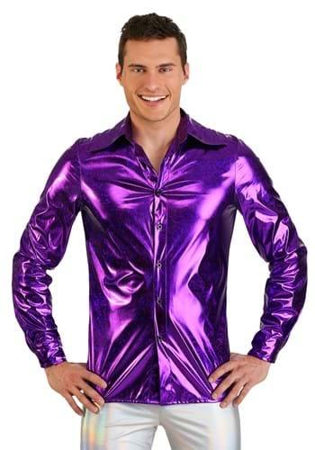 Mens Shattered Glass Disco Shirt