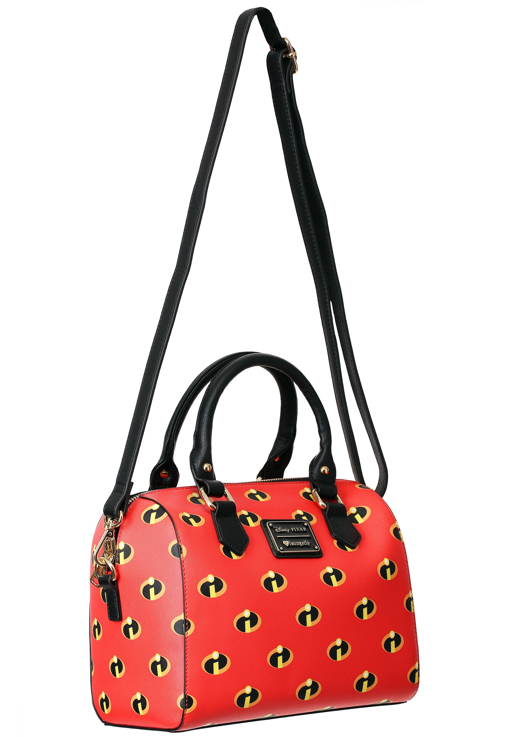 676afa97a46e Loungefly Disney Incredibles Satchel Crossbody Purse
