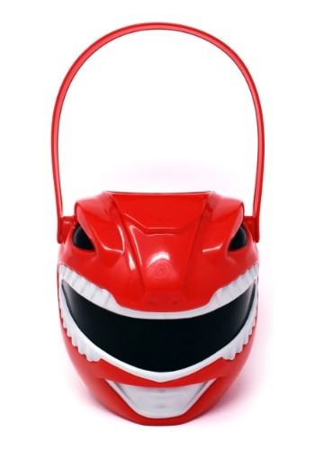 Power Ranger Plastic Trick or Treat Bucket