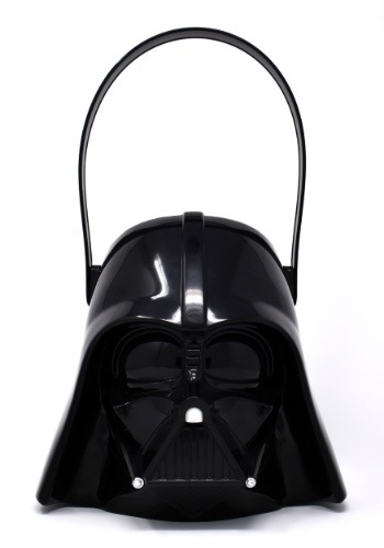 Click Here to buy Darth Vader Plastic Trick or Treat Bucket from HalloweenCostumes, CDN Funds