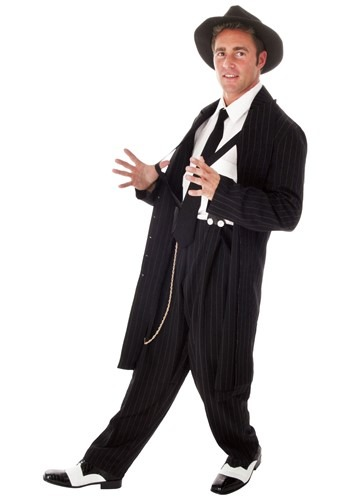 Plus Size Zoot Suit Costume