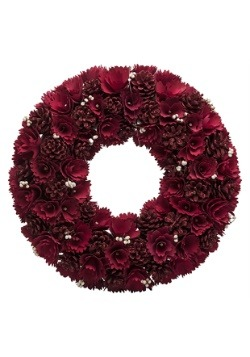 Red Rose 18 Inch Wreath